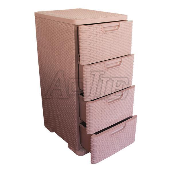 khuôn tủ nhựa 4 ngăn
